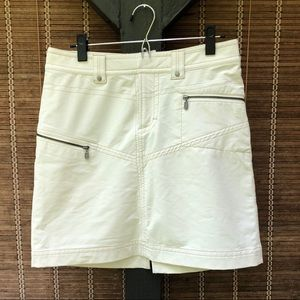 Athleta winter white/ivory skirt. Size 6